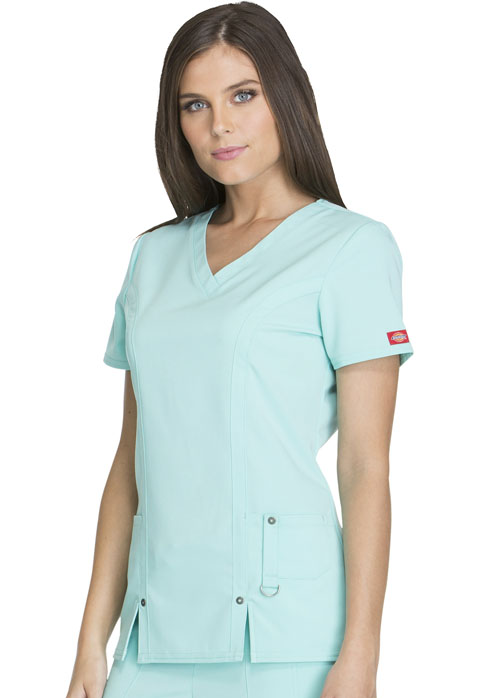 bf7cbe2acb2 82851, Dickies, Xtreme, Stretc, Scrubs, V-Neck, Scrub, Top | Fashion ...